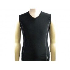 Compress Senior V-Neck - Black