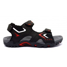 Rock Mens Sandal - Black/Red