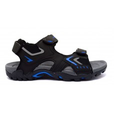 Rock Boys Sandal - Black/Royal