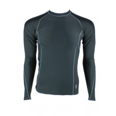 Compress Senior Long Sleeve Top - Black
